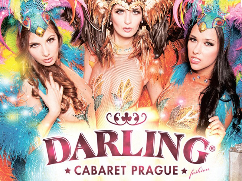 Prague tourist guide offer Darling Cabaret image4740