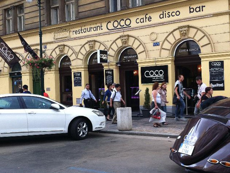 Prague tourist guide offer Coco Cafe Bar Praha image3573