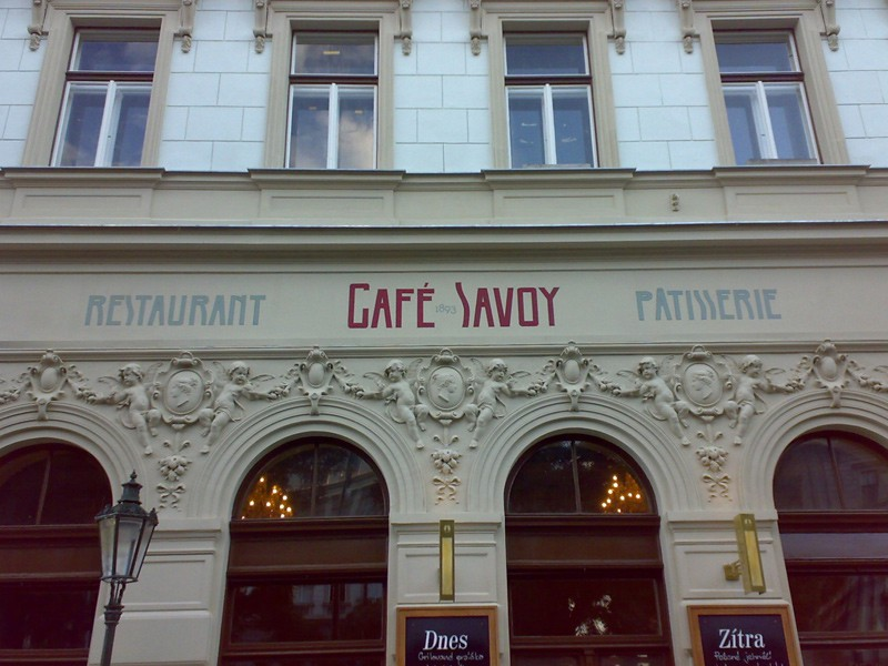 Prague tourist guide offer Café Savoy  image2001