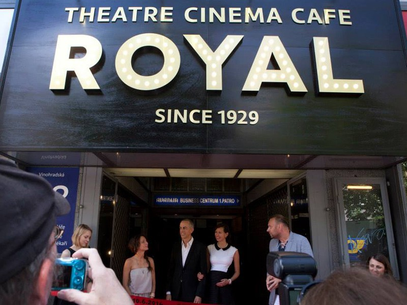 Prague&Me - Theatre Cinema Cafe Royal