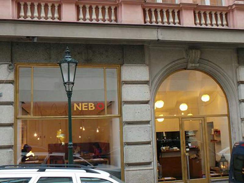 Prague tourist guide offer NEB.O Restaurant Prague image4365