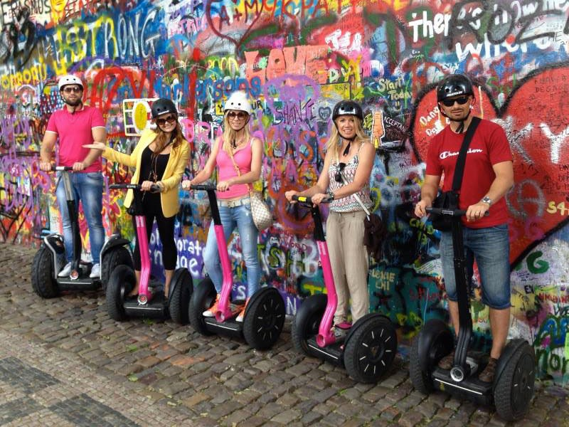 Prague tourist guide offer Segway point - Prague Segway Tours image871