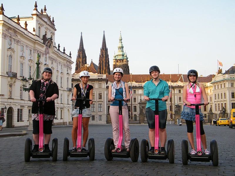 Prague tourist guide offer Segway point - Prague Segway Tours image872