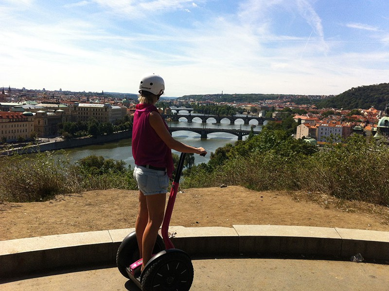 Prague tourist guide offer Segway point - Prague Segway Tours image873