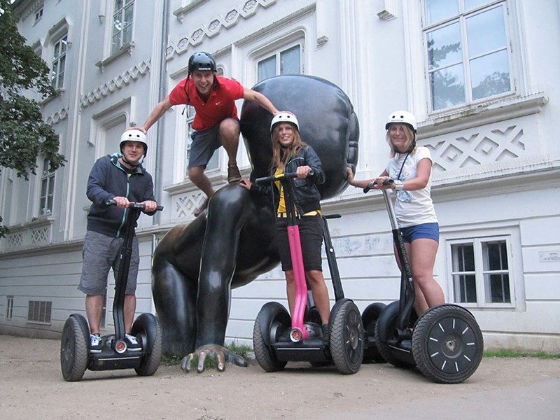 Prague tourist guide offer Segway point - Prague Segway Tours image874