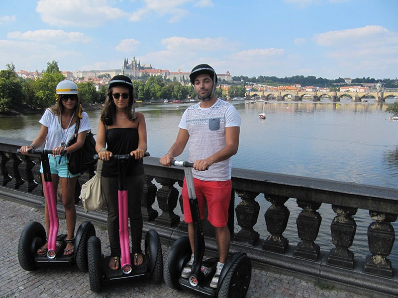 Prague tourist guide offer Segway point - Prague Segway Tours image875